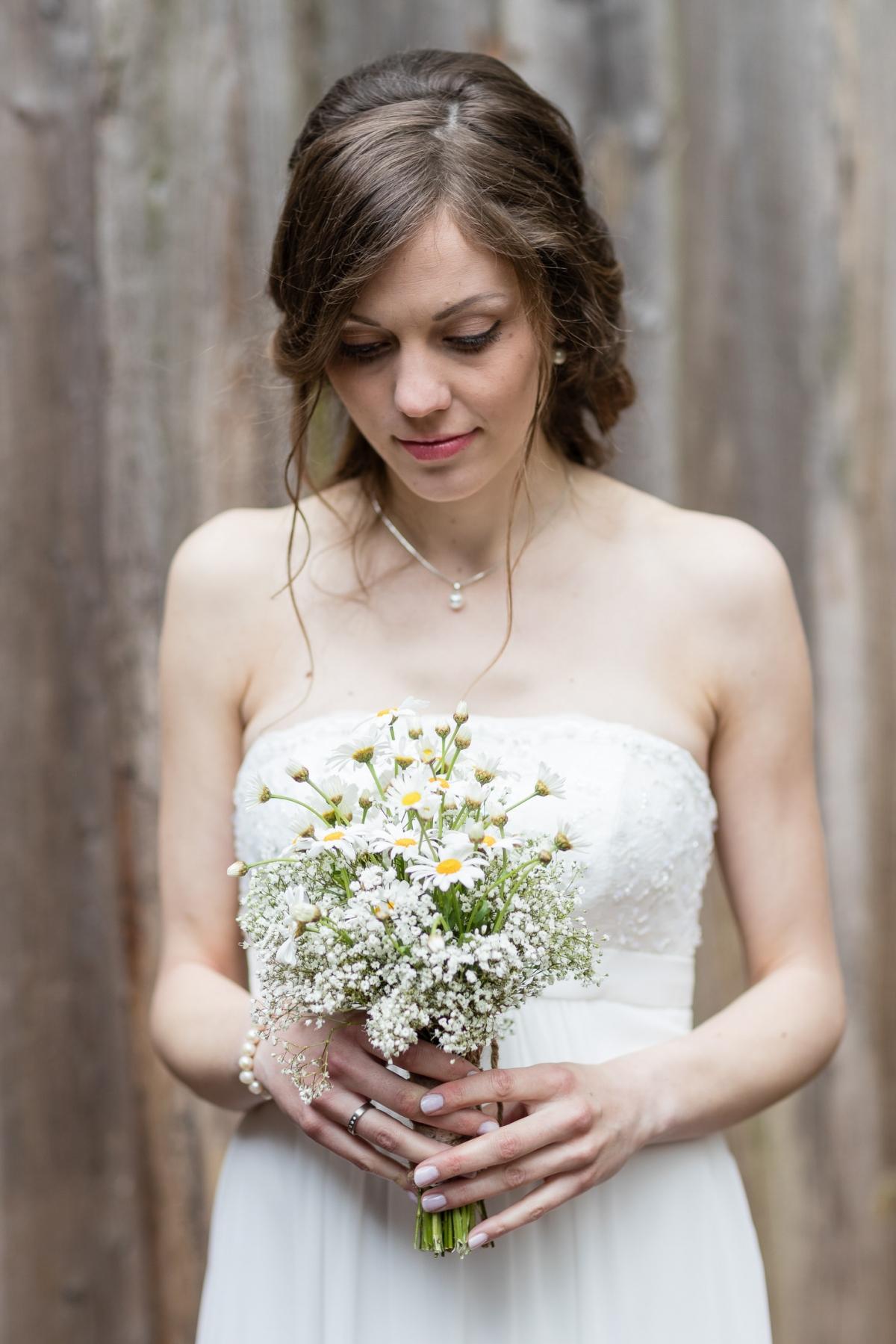 Hochzeitsfotoshooting mit der Braut