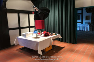 Fotobox für eine Hochzeit in Bremen