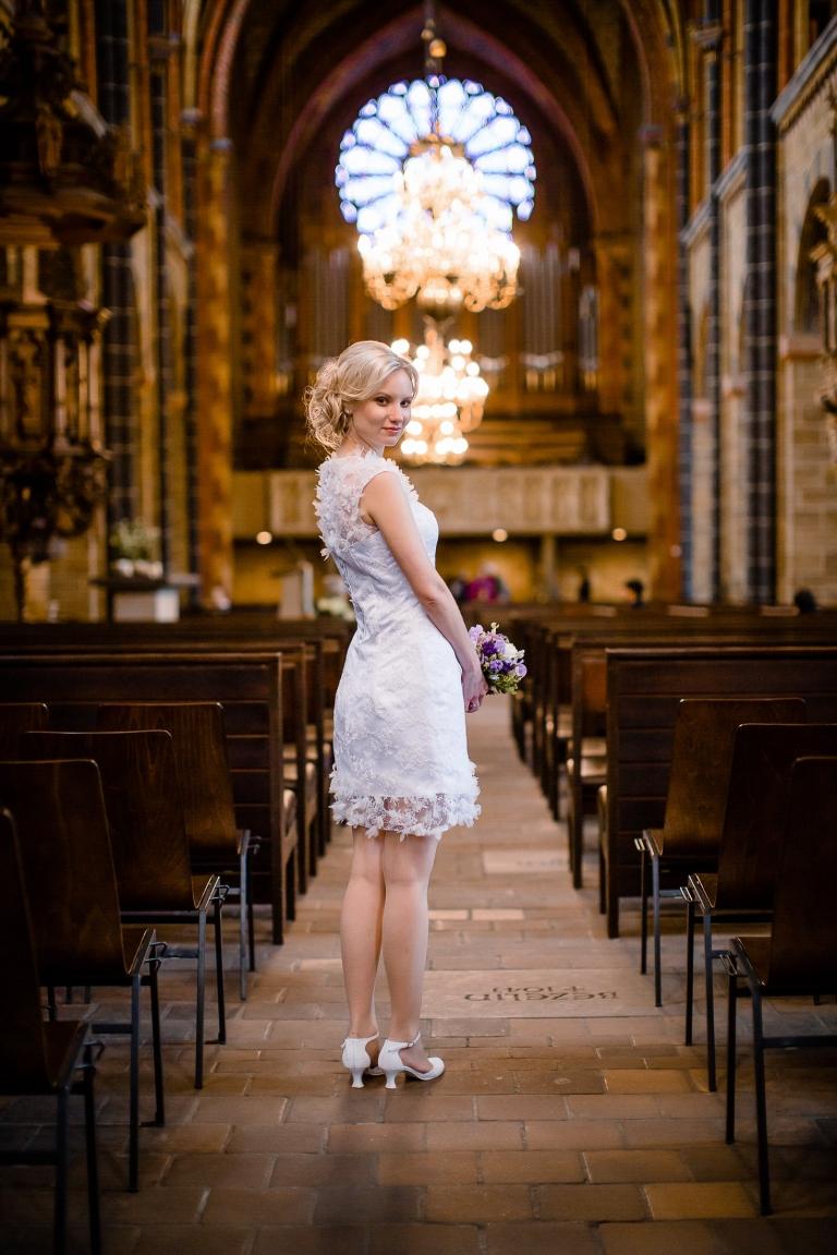 Hochzeitsfotoshooting im Bremer Dom
