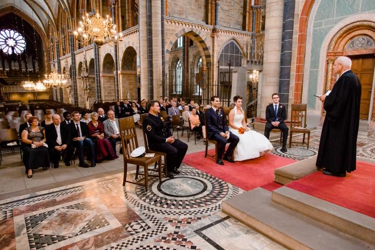 Kirchliche Trauung im Bremer Dom